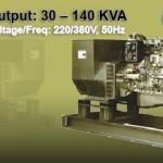 MWM Genset output: 30 – 140 KVA